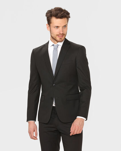 BLAZER ULTRA SLIM FIT TOM HOMME Noir