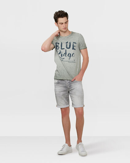 BERMUDA REGULAR FIT JOG DENIM HOMME Gris clair