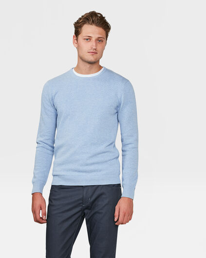 PULL STRUCTURE HOMME Violet