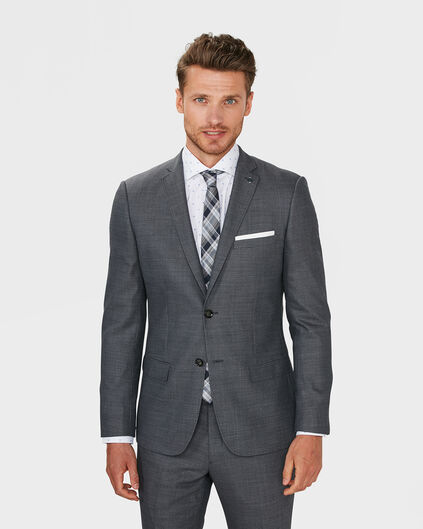 BLAZER REGULAR FIT BOSTON HOMME Gris foncé