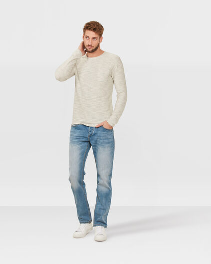 JEANS RELAXED TAPERED HOMME Bleu