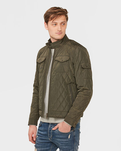 BLOUSON QUILTED HOMME Vert