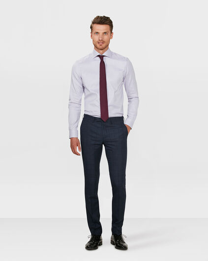 PANTALON SLIM FIT BLACKBURN À CARREAUX HOMME Bleu
