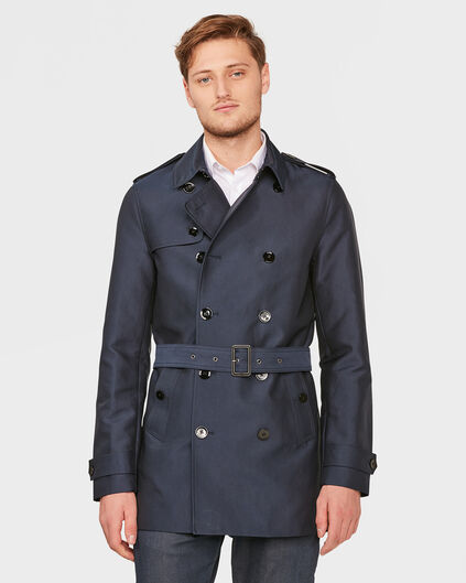 TRENCH-COAT CLASSIC HOMME Bleu