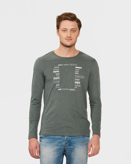 T-SHIRT EXTREME SOFT FABRIC HOMME Vert mousse