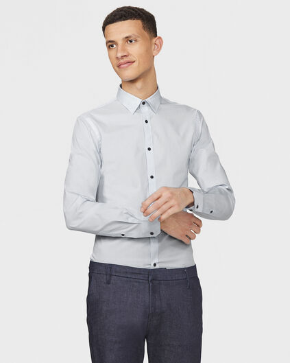 CHEMISE STRETCH HOMME Gris