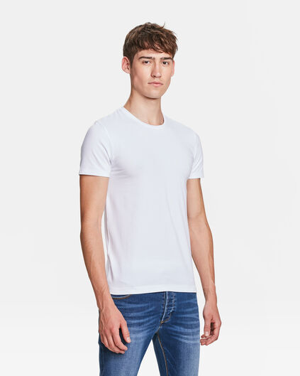 R-NECK T-SHIRT HOMME Blanc