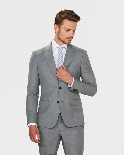 BLAZER SLIM FIT DERBY HOMME Gris clair