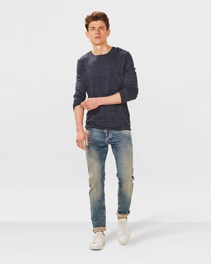 JOG DENIM SKINNY TAPERED HOMME Indigo