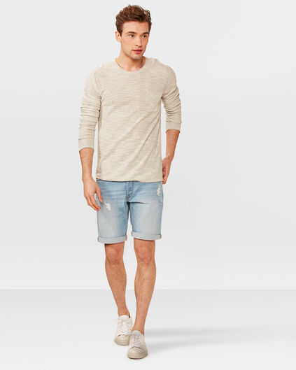 BERMUDA REGULAR FIT DENIM HOMME Bleu eclair