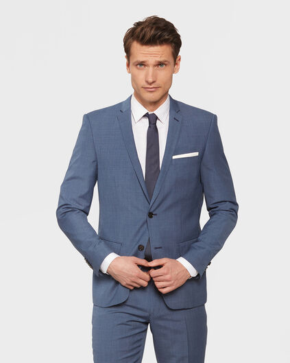 BLAZER SLIM FIT GRIFFIN HOMME Bleu