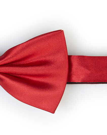 SOLID BOW TIE HOMME Rouge