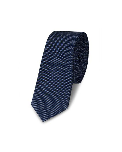 CRAVATE DOT DESSIN HOMME Bleu