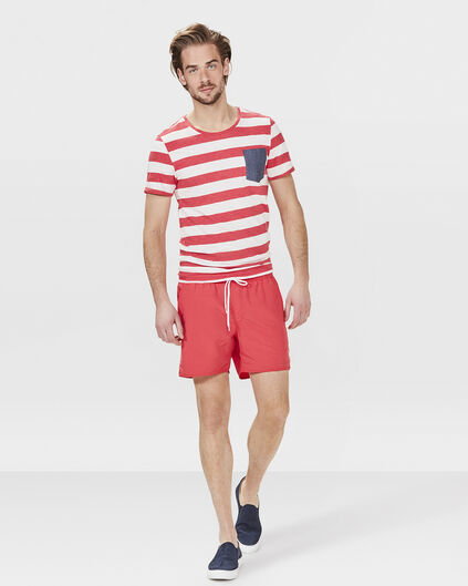 SHORT DE BAIN BASIC HOMME Rouge
