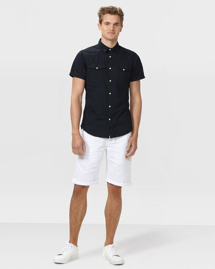 SHORT REGULAR FIT CHINO HOMME Blanc