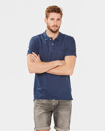 POLO SOLID HOMME Bleu