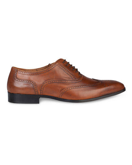 CHAUSSURES A LACETS LEATHER BROQUE HOMME Cognac