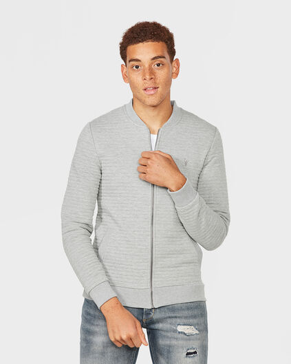 GILET STRIPED STRUCTURE HOMME Gris