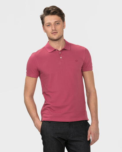 POLO ORGANIC COTTON HOMME Rouge eclair