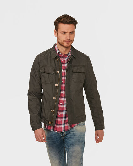 VESTE GREGORY COTTON HOMME Taupe