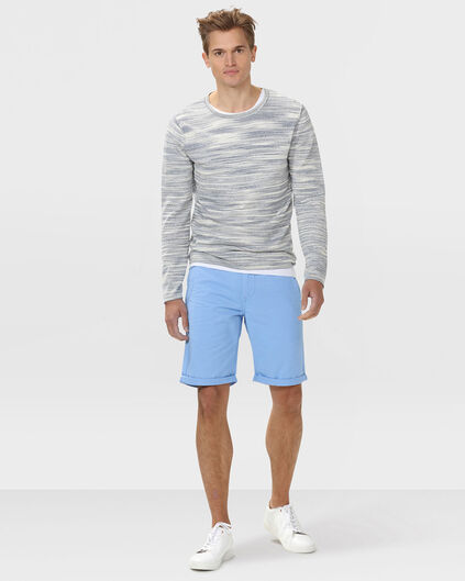 SHORT REGULAR FIT CHINO HOMME Bleu pastel