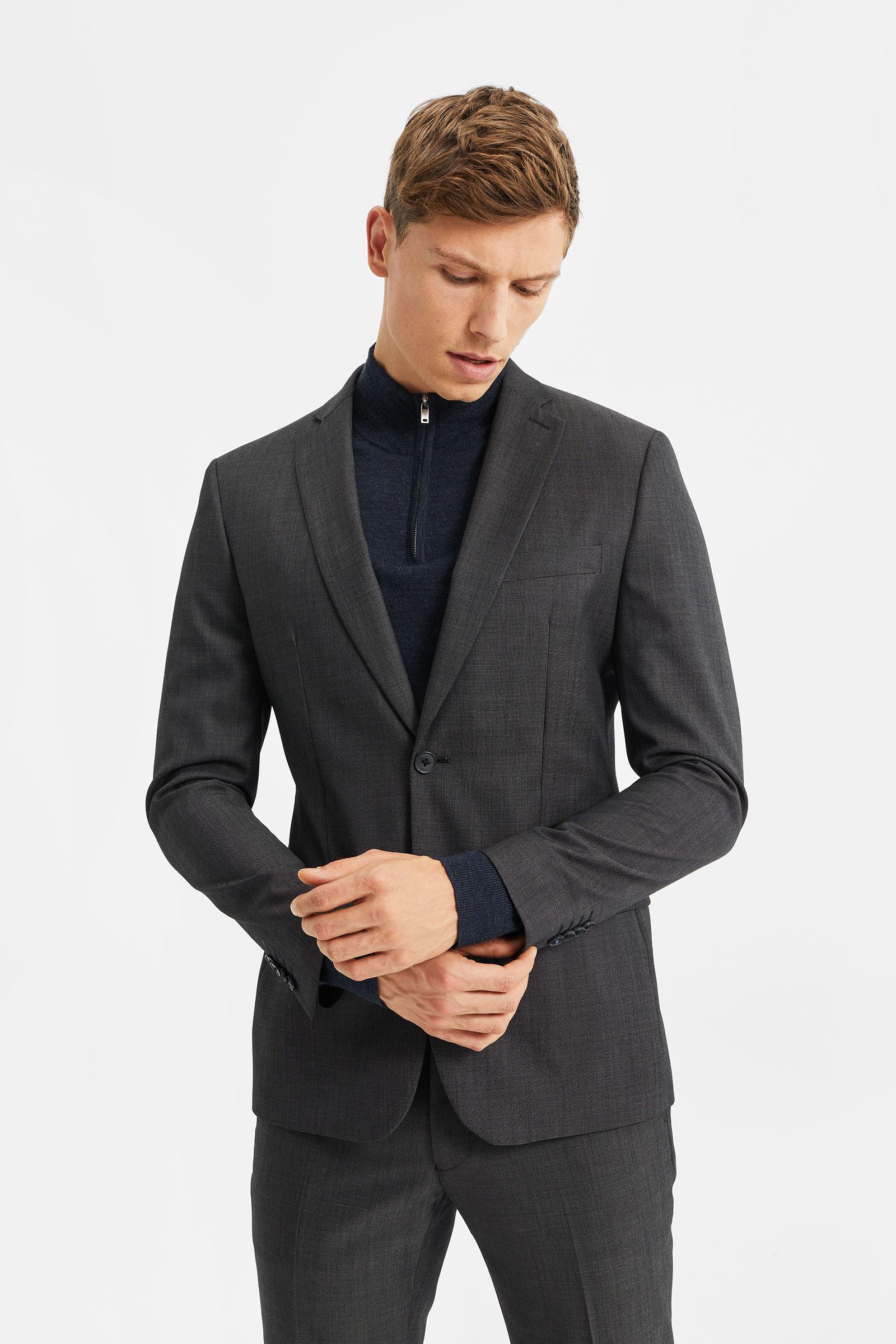 costume slim fit tom homme 79626682 set suit we fashion. Black Bedroom Furniture Sets. Home Design Ideas