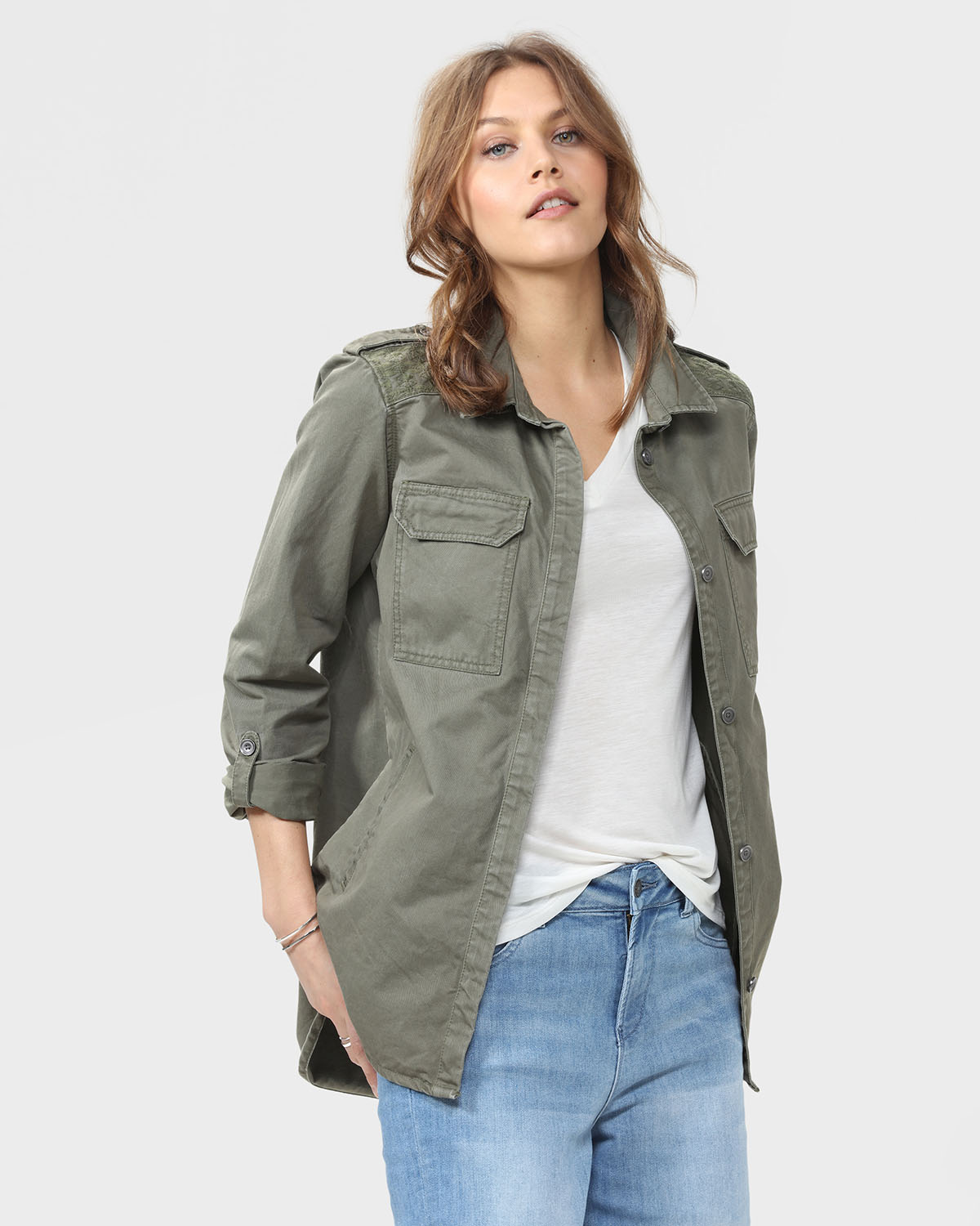 veste army femme 79191029 we fashion
