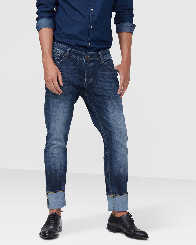 jeans skinny tapered homme 78944565 we fashion. Black Bedroom Furniture Sets. Home Design Ideas