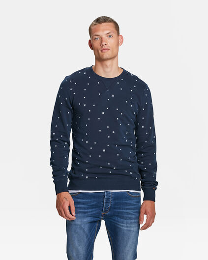 SWEAT-SHIRT BLUE RIDGE LOGO PRINT HOMME Bleu marine