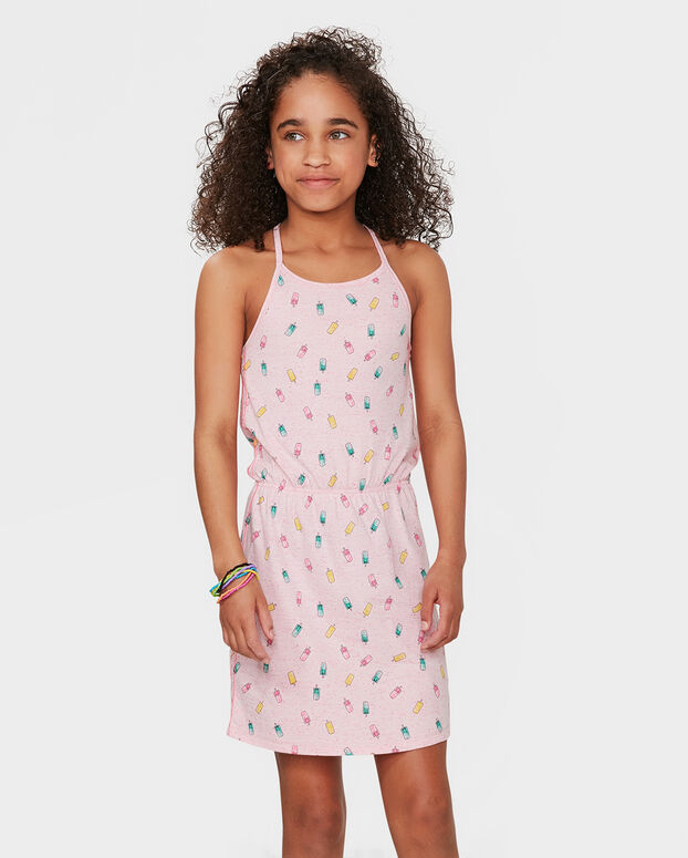 ROBE ICE CREAM PRINT FILLE Rose