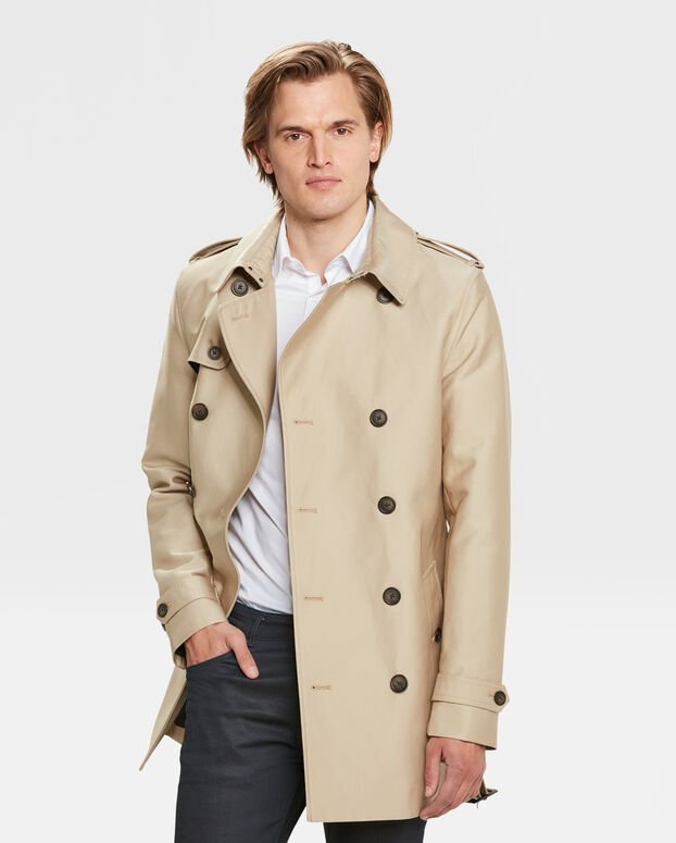 TRENCH COAT CLASSIC HOMME Caramel