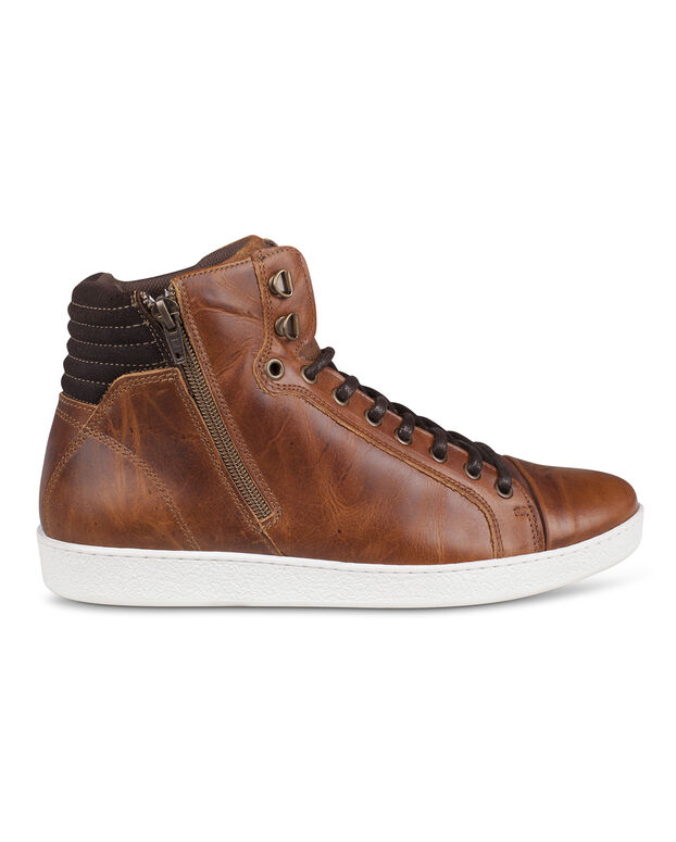BOTTILLONS REAL LEATHER HOMME Cognac
