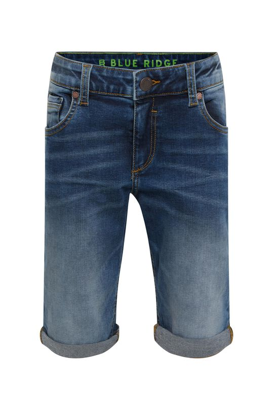 Short denim regular fit garçon Bleu
