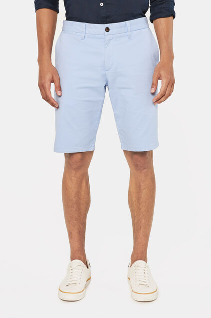 Long short chino homme Bleu eclair
