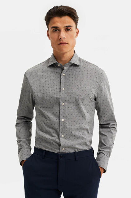 Chemise slim fit easy care homme Bleu eclair