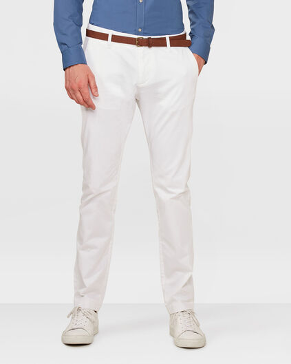 CHINO SKINNY FIT HOMME Blanc