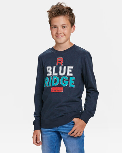 SWEAT-SHIRT BLUE RIDGE GARÇON Bleu marine
