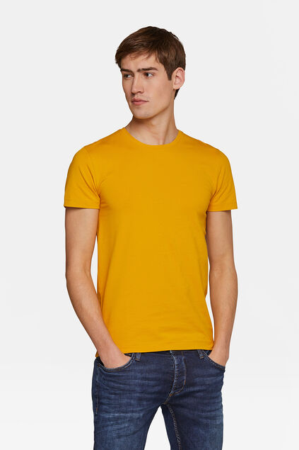 T-SHIRT HOMME BASIC Jaune