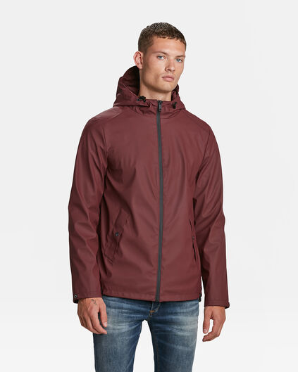 IMPERMÉABLE REGULAR FIT HOMME Bordeaux