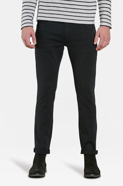 Jeans slim fit comfort stretch homme Noir