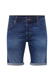 Short denim regular fit homme_Short denim regular fit homme, Bleu