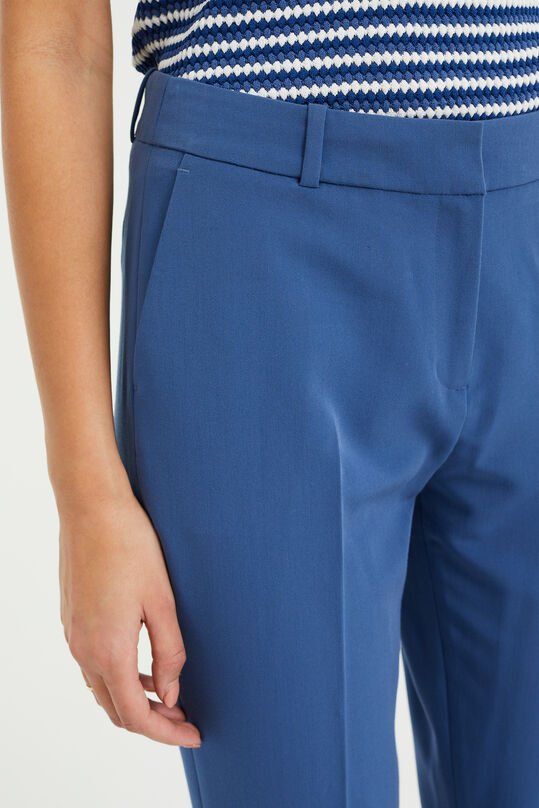 Pantalon regular fit femme Bleu glace