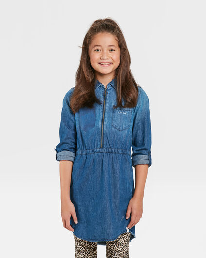 ROBE DENIM FILLE Bleu