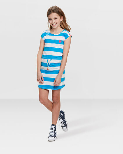 TUNIQUE STRIPED FILLE Bleu vif
