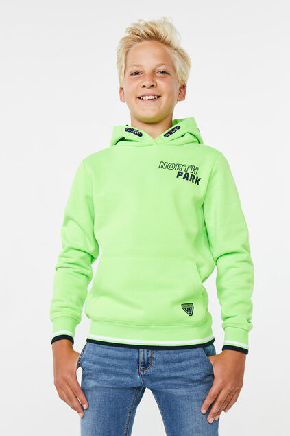 Sweat-shirt north park garçon Vert vif