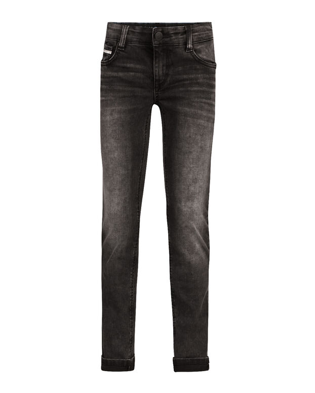 JEANS SKINNY FIT POWER STRETCH GARÇON Noir
