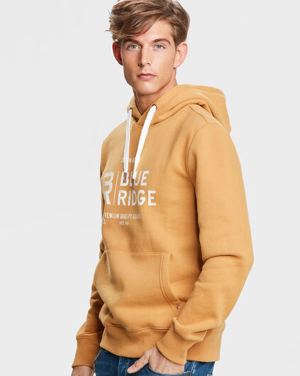 SWEAT-SHIRT BLUE RIDGE HOODED HOMME Jaune moutarde