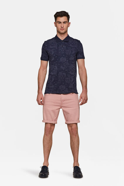 Short denim regular fit homme Rose clair