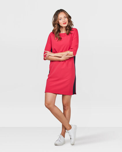 ROBE SIDE STRIPE FEMME Rose