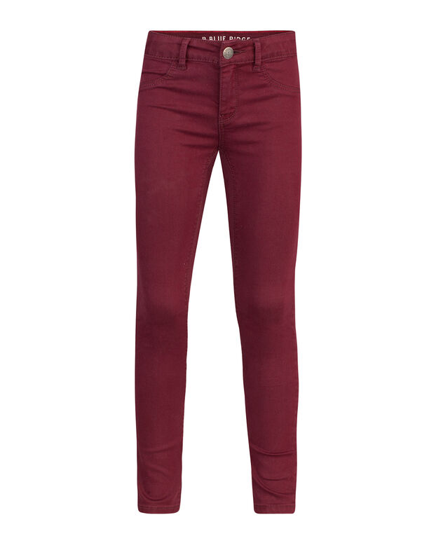 JEGGING SUPER SKINNY POWER STRETCH FILLE Rouge